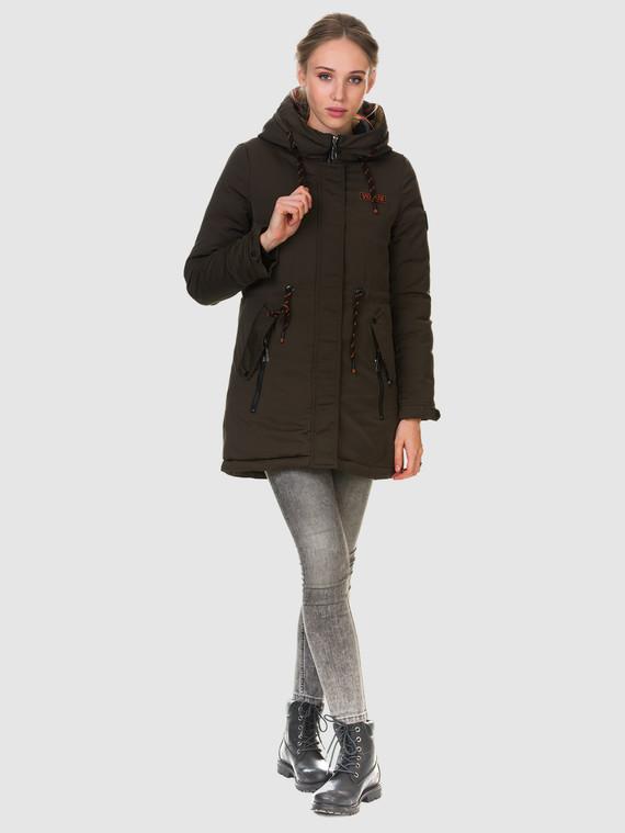 Пуховик текстиль, цвет темно-коричневый, арт. 03901010  - цена 3990 руб.  - магазин TOTOGROUP