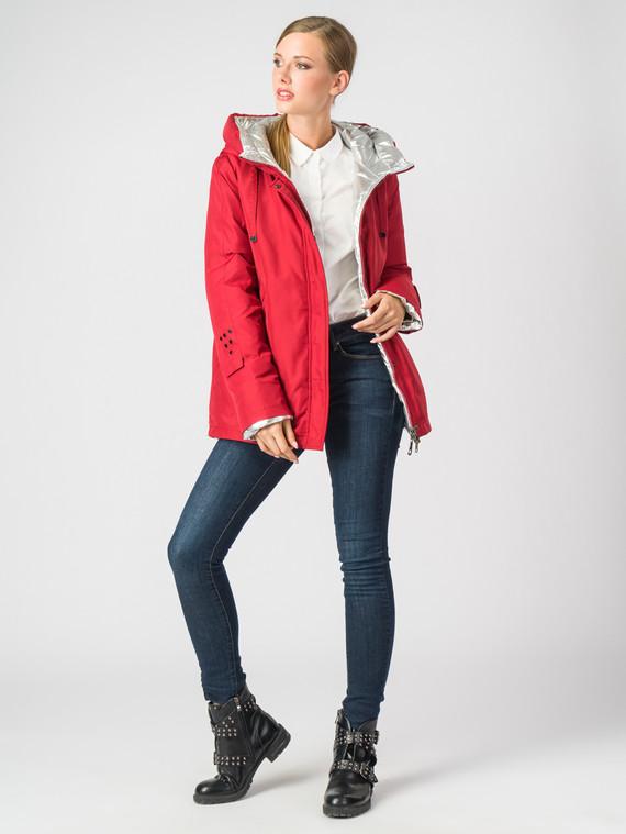 Пуховик текстиль, цвет красный, арт. 04006215  - цена 6630 руб.  - магазин TOTOGROUP