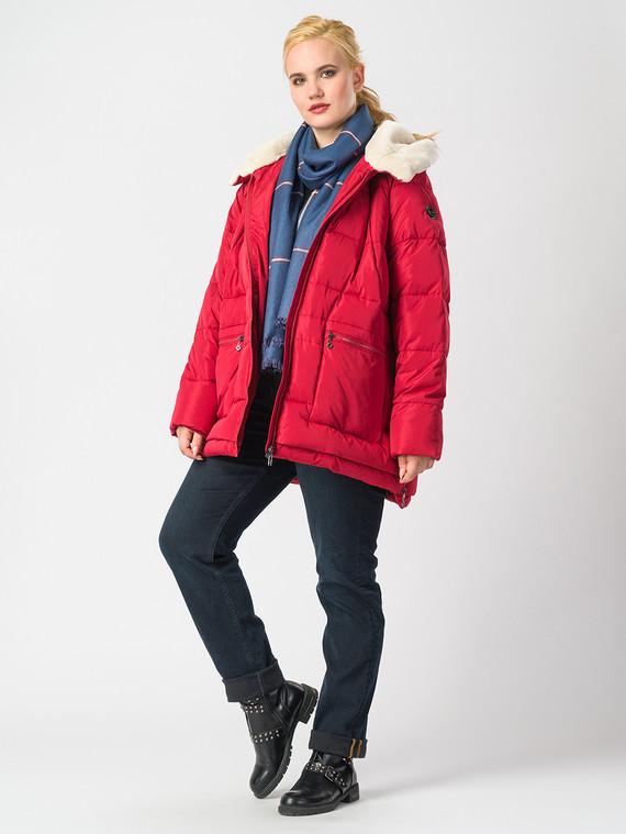 Пуховик текстиль, цвет красный, арт. 04006554  - цена 5890 руб.  - магазин TOTOGROUP