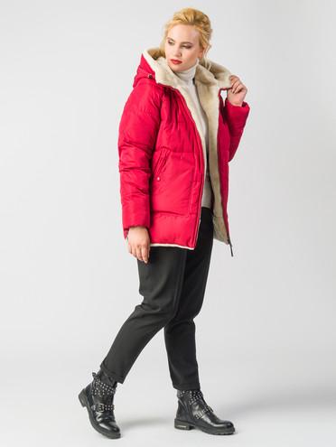 Пуховик текстиль, цвет красный, арт. 04006567  - цена 10590 руб.  - магазин TOTOGROUP