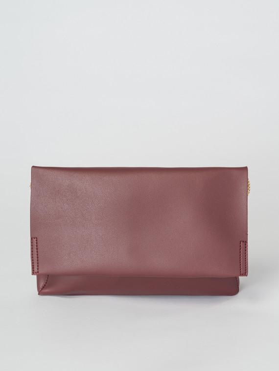 Сумка эко-кожа 100% П/А, цвет бордо, арт. 04007348  - цена 1750 руб.  - магазин TOTOGROUP