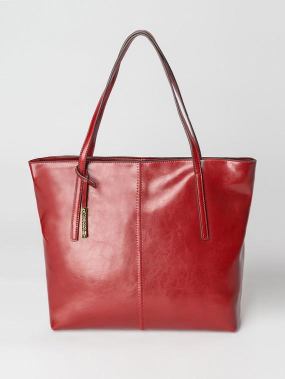 Сумка кожа теленок, цвет бордо, арт. 04007351  - цена 5890 руб.  - магазин TOTOGROUP