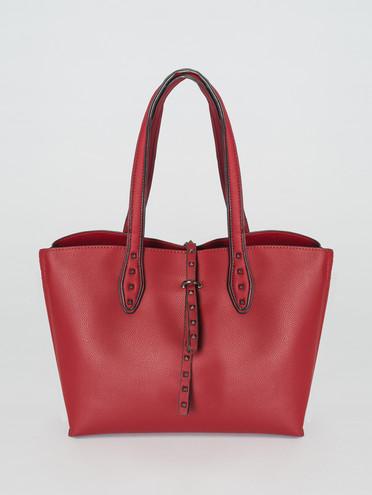 Сумка эко-кожа 100% П/А, цвет красный, арт. 04007427  - цена 2690 руб.  - магазин TOTOGROUP