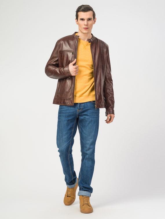 Кожаная куртка кожа , цвет бордо, арт. 04106187  - цена 15990 руб.  - магазин TOTOGROUP