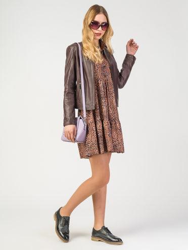 Кожаная куртка кожа, цвет бордо, арт. 04106208  - цена 6290 руб.  - магазин TOTOGROUP