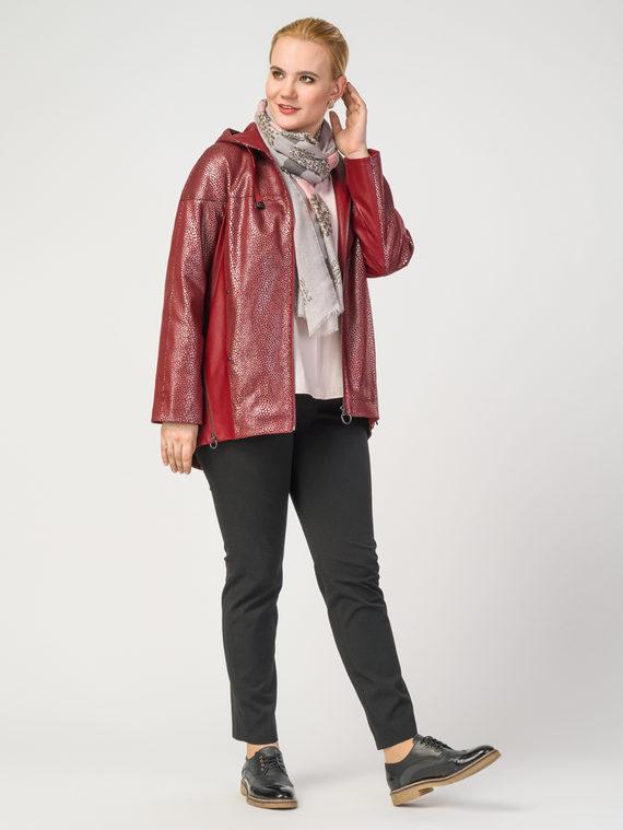 Кожаная куртка эко-замша 100% П/А, цвет бордо, арт. 04108177  - цена 8490 руб.  - магазин TOTOGROUP