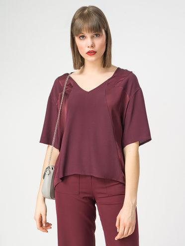 Блуза 100% вискоза, цвет бордо, арт. 04108323  - цена 5590 руб.  - магазин TOTOGROUP