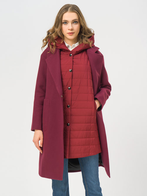 Текстильное пальто артикул 04109272/42 - фото 4