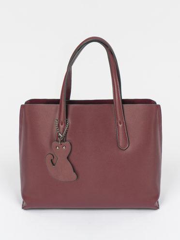 Сумка кожа теленок, цвет бордо, арт. 04109491  - цена 6290 руб.  - магазин TOTOGROUP