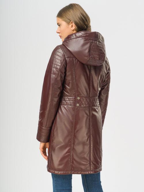Кожаное пальто артикул 04109533/42 - фото 3
