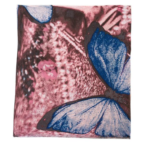 Шарф 30%бамбук,70%хлопок, цвет бордо, арт. 04700232  - цена 540 руб.  - магазин TOTOGROUP