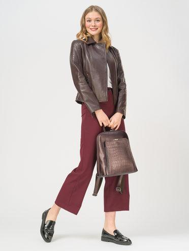 Кожаная куртка кожа , цвет бордо, арт. 04802468  - цена 10590 руб.  - магазин TOTOGROUP