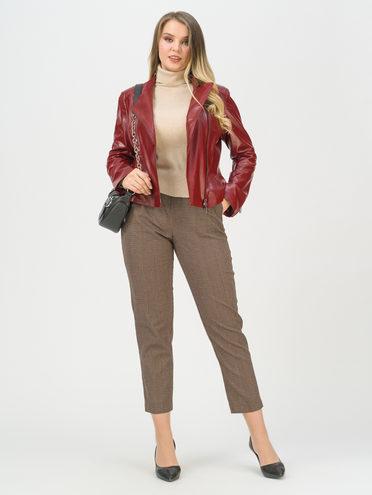 Кожаная куртка эко-кожа 100% П/А, цвет бордо, арт. 04809930  - цена 4490 руб.  - магазин TOTOGROUP