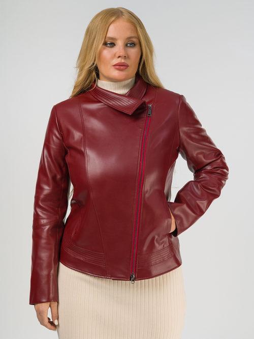 Кожаная куртка артикул 04810035/44 - фото 2