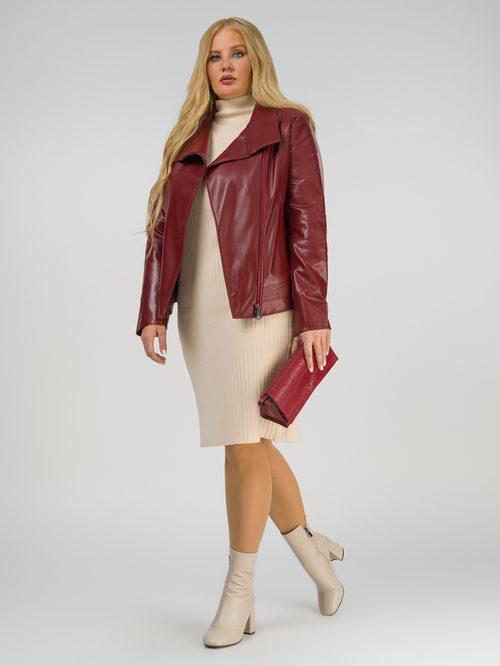 Кожаная куртка артикул 04810035/44
