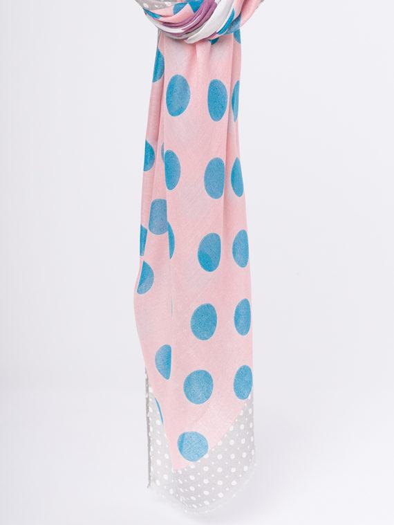 Шарф 50%хлопок,50%вискоза, цвет бордо, арт. 04810300  - цена 590 руб.  - магазин TOTOGROUP