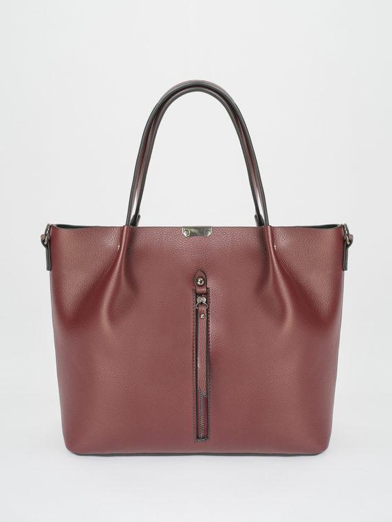 Сумка эко-кожа 100% П/А, цвет бордо, арт. 04810456  - цена 2990 руб.  - магазин TOTOGROUP