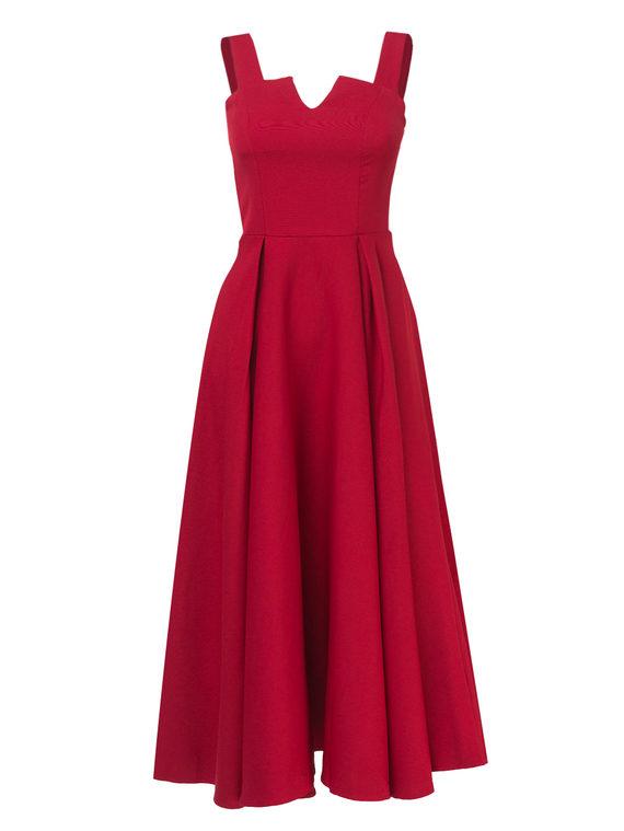 Платье , цвет бордо, арт. 04810557  - цена 1490 руб.  - магазин TOTOGROUP