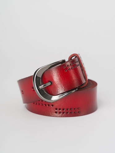 Ремень , цвет бордо, арт. 04810990  - цена 990 руб.  - магазин TOTOGROUP