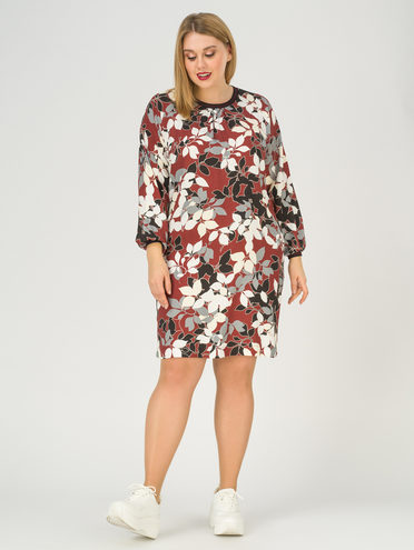 Платье 100% вискоза, цвет бордо, арт. 04811249  - цена 1750 руб.  - магазин TOTOGROUP