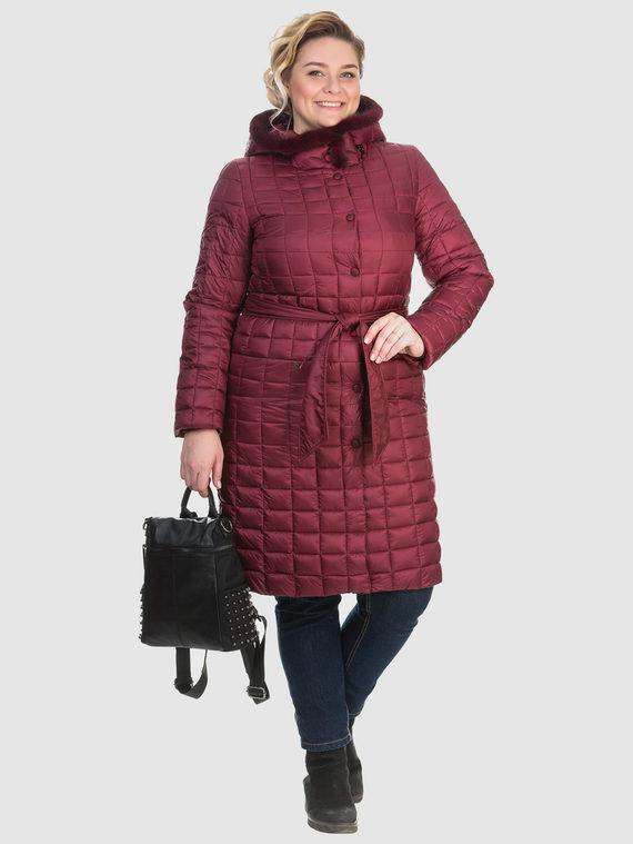 Пуховик текстиль, цвет бордо, арт. 04902665  - цена 6990 руб.  - магазин TOTOGROUP