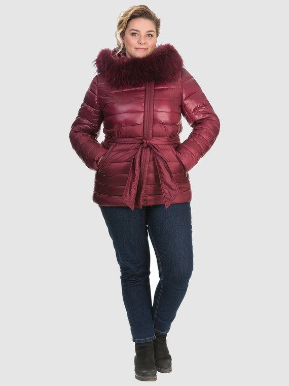 Пуховик текстиль, цвет бордо, арт. 04902676  - цена 6630 руб.  - магазин TOTOGROUP