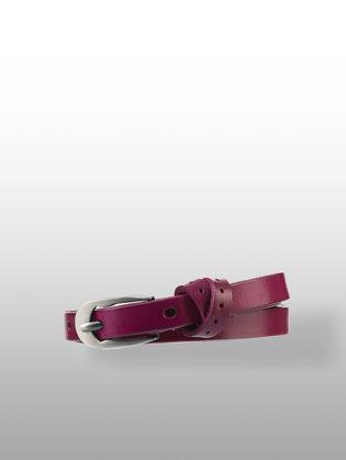 Ремень кожа теленок, цвет бордо, арт. 04903579  - цена 990 руб.  - магазин TOTOGROUP