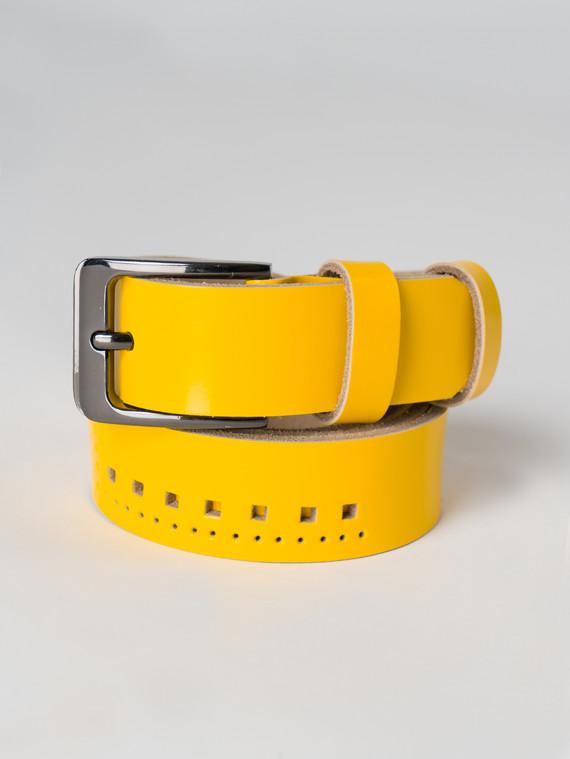 Ремень кожа корова, цвет желтый, арт. 05005927  - цена 1070 руб.  - магазин TOTOGROUP