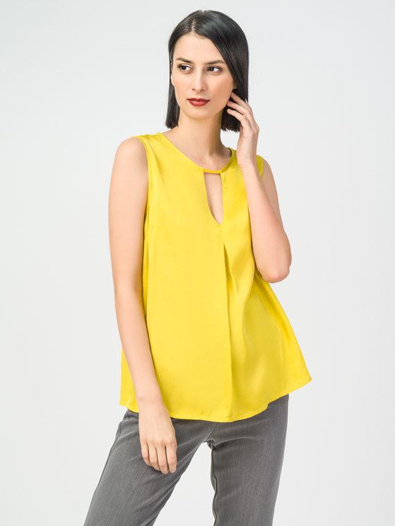 Блуза 100% вискоза, цвет желтый, арт. 05108324  - цена 2420 руб.  - магазин TOTOGROUP