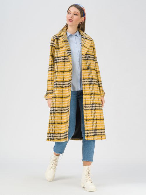 Текстильное пальто артикул 05711391/44 - фото 2