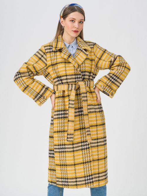 Текстильное пальто артикул 05711391/44
