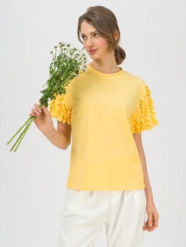 Блуза 80% хлопок, 20% п\э, цвет желтый, арт. 05711706  - цена 1330 руб.  - магазин TOTOGROUP