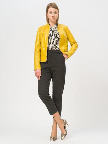Кожаная куртка кожа , цвет желтый, арт. 05802498  - цена 8490 руб.  - магазин TOTOGROUP