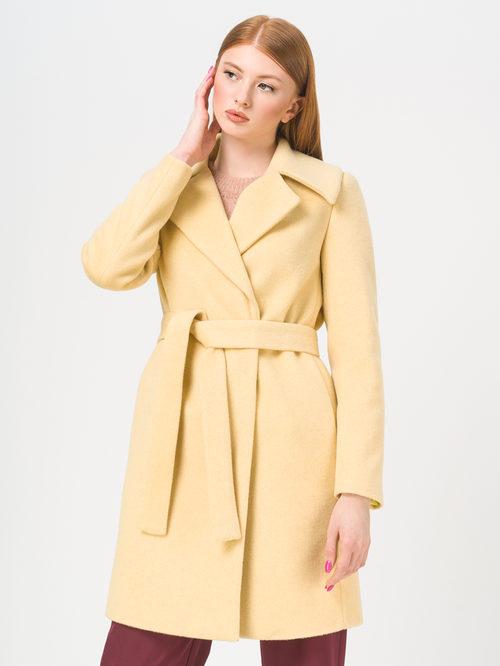 Текстильное пальто артикул 05809323/42 - фото 2