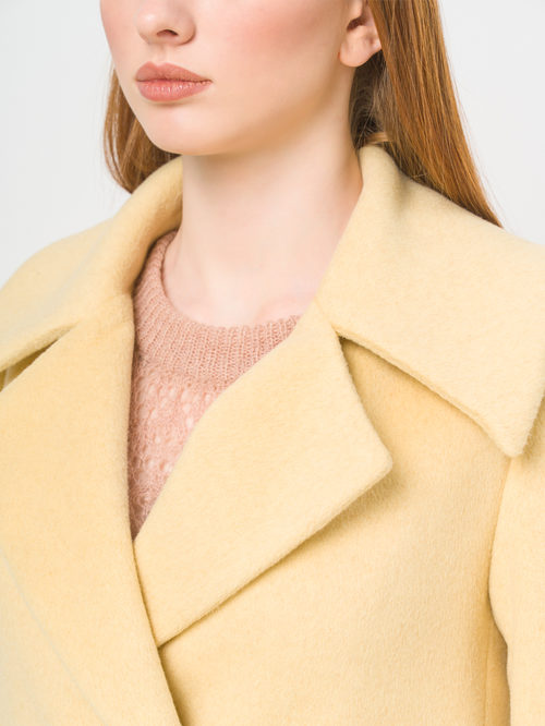 Текстильное пальто артикул 05809323/42 - фото 4