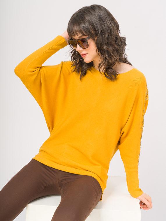 Джемпер , цвет желтый, арт. 05810238  - цена 940 руб.  - магазин TOTOGROUP
