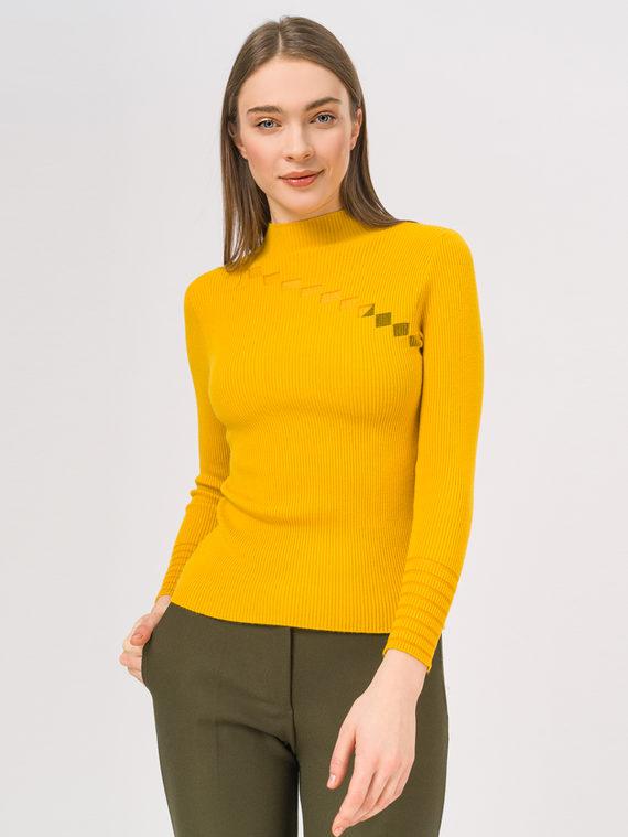 Джемпер 50% вискоза, 28% полиэстер, 22% нейлон, цвет желтый, арт. 05810349  - цена 840 руб.  - магазин TOTOGROUP