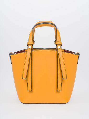 Сумка эко-кожа 100% П/А, цвет желтый, арт. 05810483  - цена 1950 руб.  - магазин TOTOGROUP
