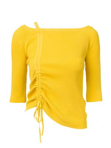 ДЖЕМПЕР 65% вискоза,35% нейлон, цвет желтый, арт. 05810548  - цена 490 руб.  - магазин TOTOGROUP