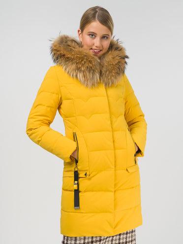 Пуховик 100% полиэстер, цвет желтый, арт. 05810565  - цена 10590 руб.  - магазин TOTOGROUP