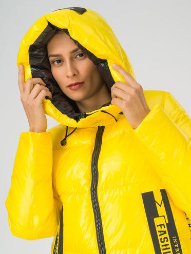 Пуховик 100% полиэстер, цвет желтый, арт. 05810687  - цена 9490 руб.  - магазин TOTOGROUP
