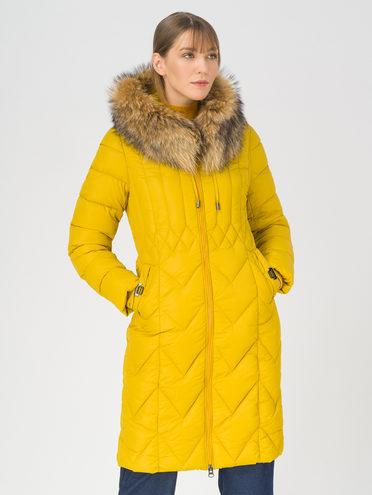 Пуховик 100% полиэстер, цвет желтый, арт. 05810758  - цена 10590 руб.  - магазин TOTOGROUP