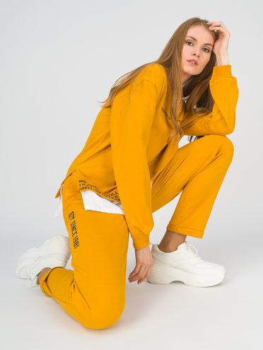Трикотажный костюм 100% хлопок, цвет желтый, арт. 05811253  - цена 2060 руб.  - магазин TOTOGROUP