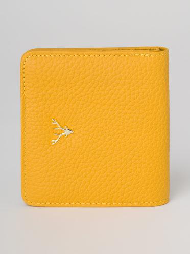 Кошелек кожа теленок, цвет желтый, арт. 05811291  - цена 1130 руб.  - магазин TOTOGROUP