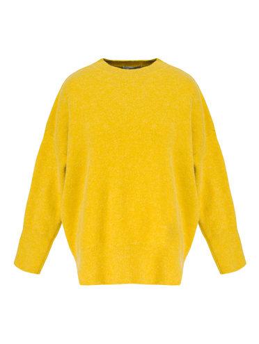 Джемпер 31% нейлон, 30% шерсть, 29% полиэстер , 10% тенсель, цвет желтый, арт. 05811335  - цена 2060 руб.  - магазин TOTOGROUP
