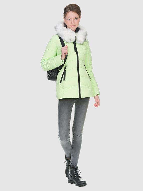 Пуховик текстиль, цвет желтый, арт. 05900726  - цена 3390 руб.  - магазин TOTOGROUP