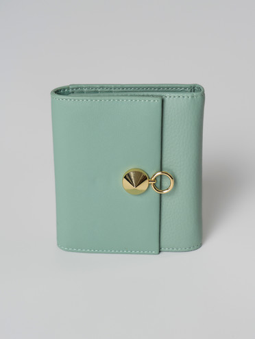 Кошелек кожа флоттер, цвет зеленый, арт. 06006038  - цена 1850 руб.  - магазин TOTOGROUP