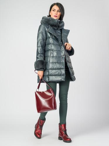 Пуховик текстиль, цвет зеленый, арт. 06006198  - цена 10590 руб.  - магазин TOTOGROUP