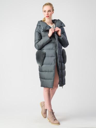Пуховик текстиль, цвет зеленый, арт. 06006199  - цена 8990 руб.  - магазин TOTOGROUP