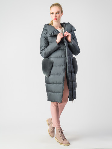 Пуховик текстиль, цвет серый, арт. 06006199  - цена 11290 руб.  - магазин TOTOGROUP